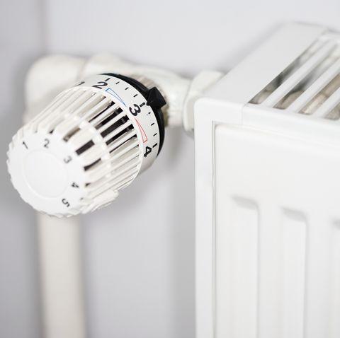 Dial on radiator