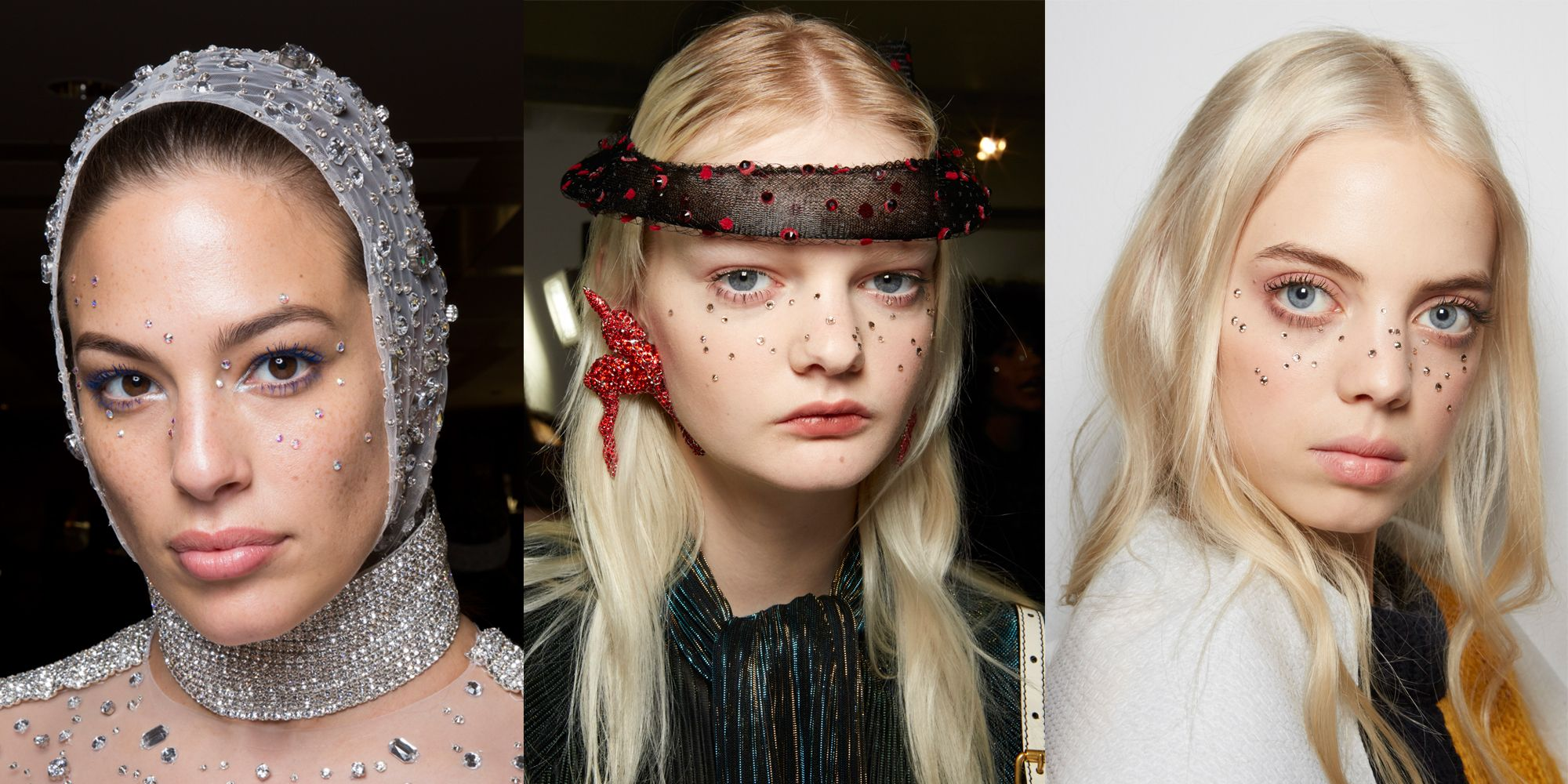 AW19 Diamante Freckle Beauty Trend