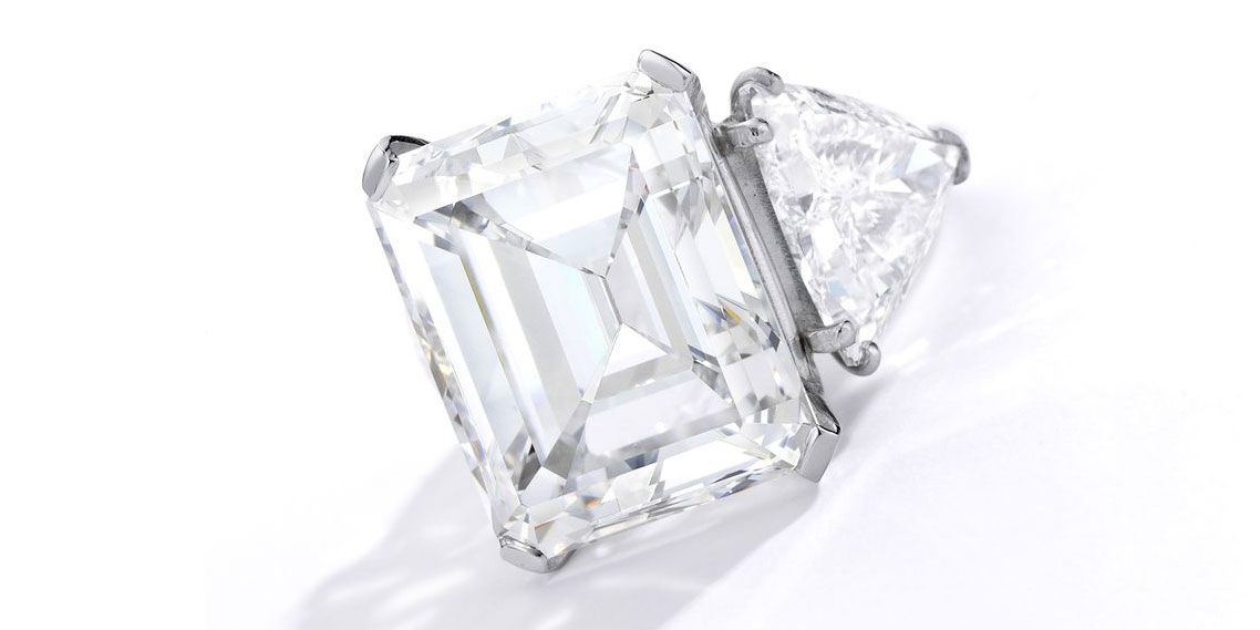 Barbara Sinatra's 20.6 Carat Diamond Engagement Was Just One of the Fabulous Jewels Sold at Auction This Week