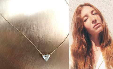 Hair, Pendant, Face, Skin, Jewellery, Body jewelry, Necklace, Fashion accessory, Beauty, Eyebrow,