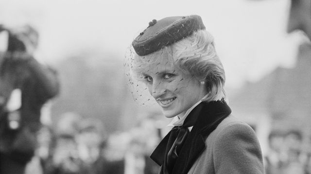 diana, princess of wales 1961   1997, visits colston's school in bristol, uk, 19th november 1983 photo by len trievnordaily expresshulton archivegetty images