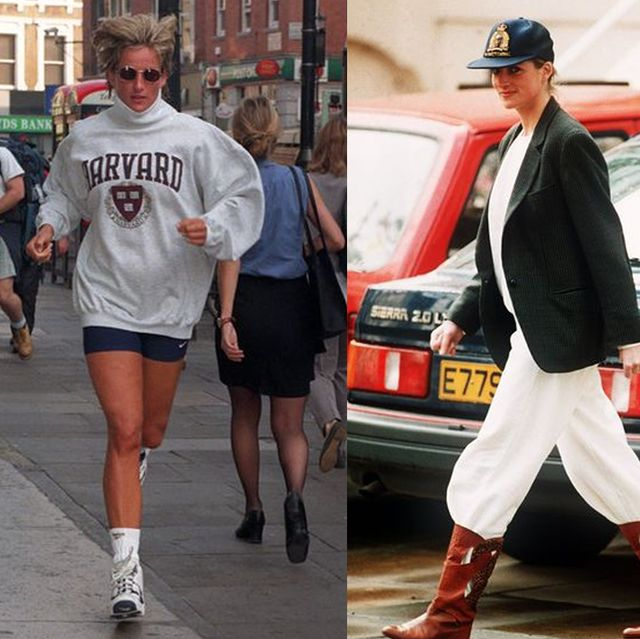 prinses diana casual outfits