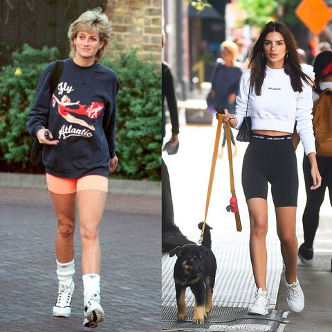 celebrities who dressed exactly like royals   princess diana and emily ratajkowski