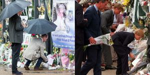 Princess Diana Flower Tribute