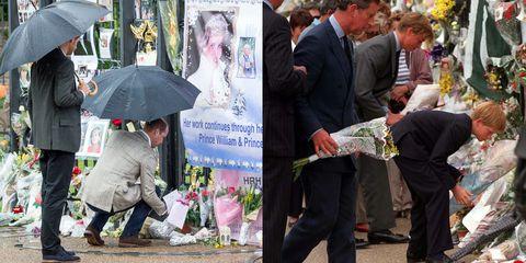 Princess Diana Flower Tribute