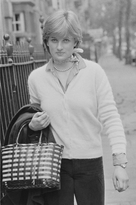 Princess Diana casual looks