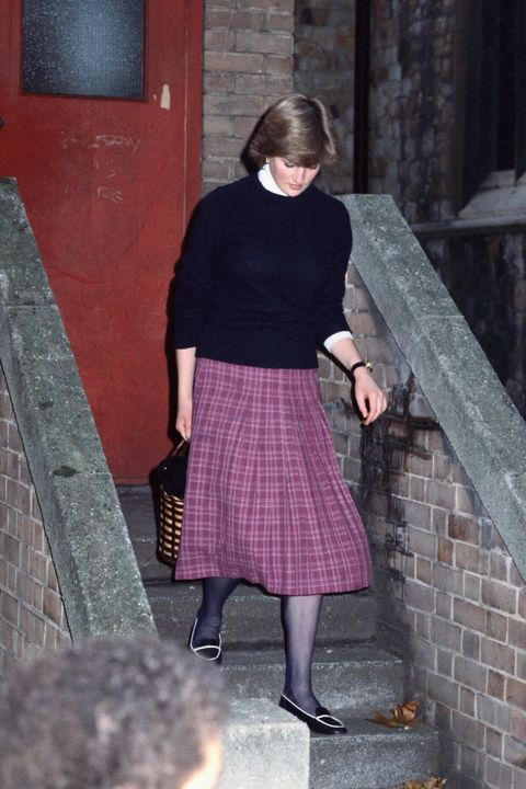 Princess Diana casual looks