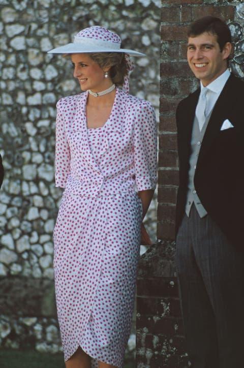 Diana At Highclere Wedding