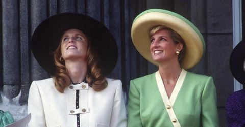 c5a65bcd766 The Duchess of York pays tribute to Princess Diana on International ...