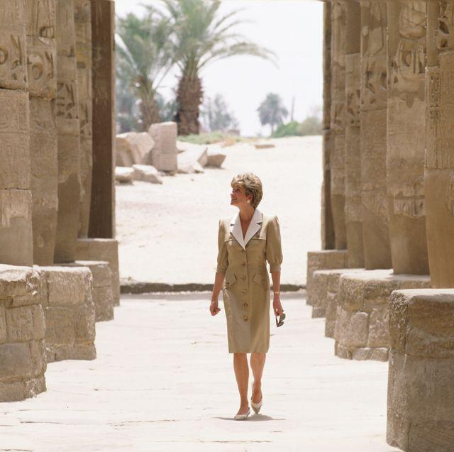 Diana Egypt Visit