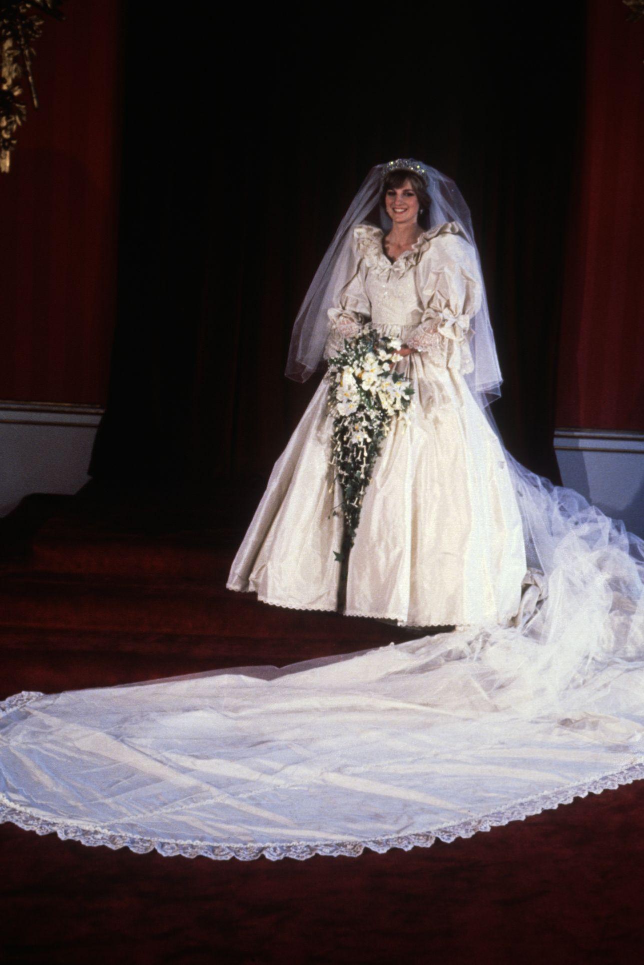 Princess Diana as a Bride
