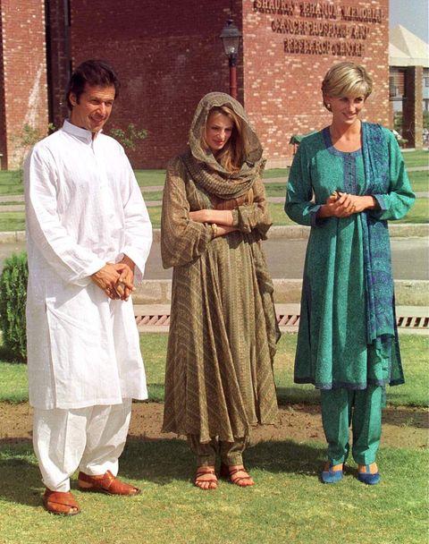 Diana Jemima Imran In Pakistan
