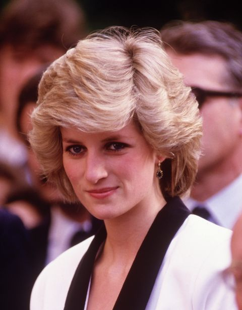 Diana Princess of Wales visits the Children's Hospital in Rome