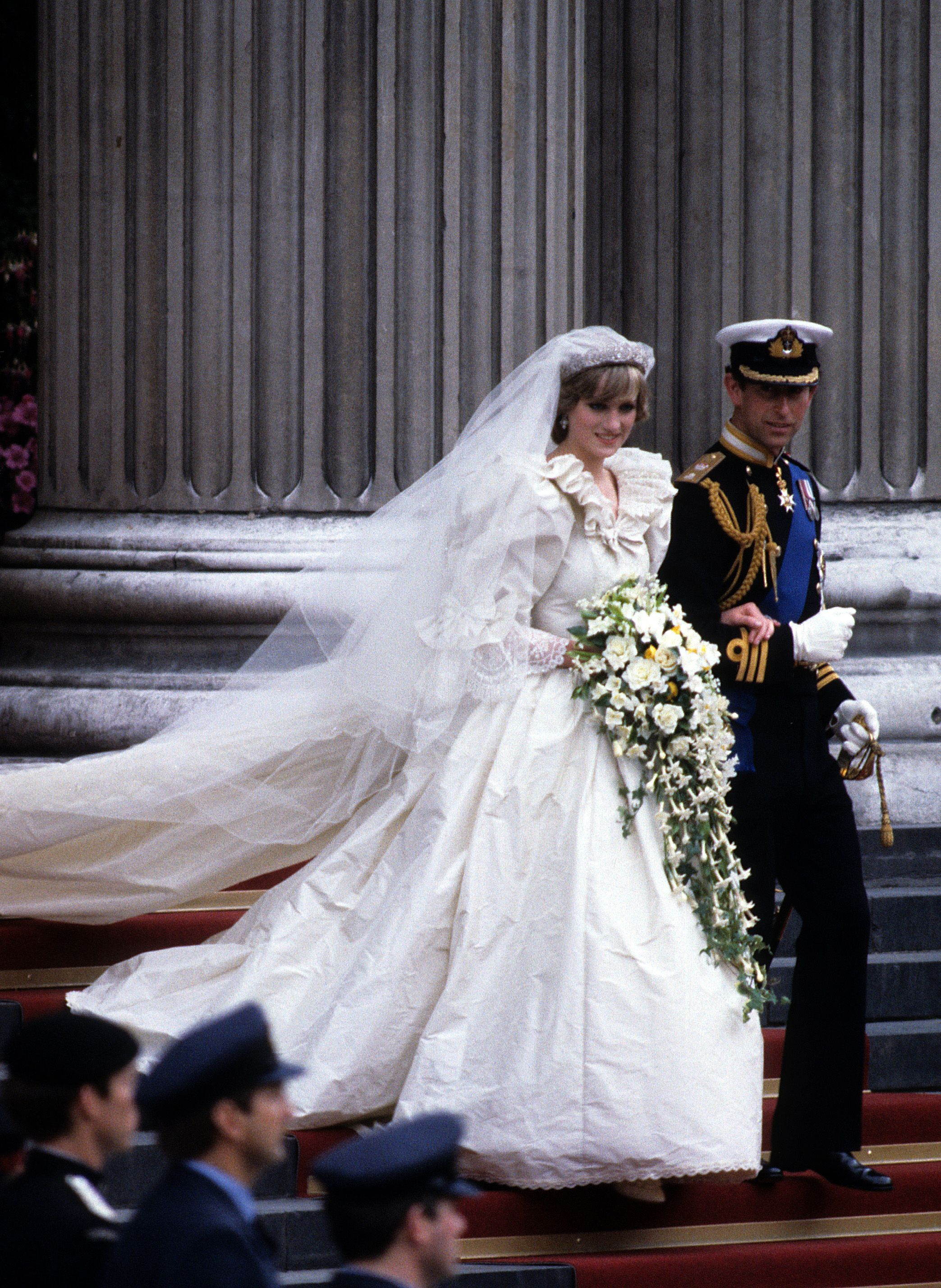 The 40 Most Scandalous Wedding Dresses of All Time , Famous