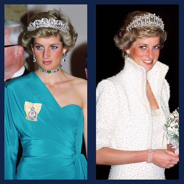 25 photos of princess diana in tiaras princess diana s tiara style 25 photos of princess diana in tiaras
