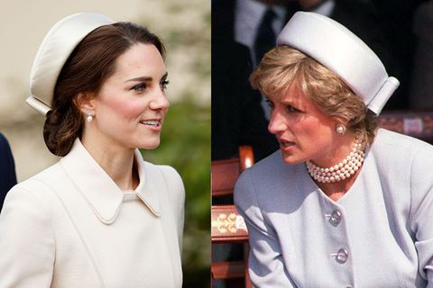 Kate and Diana hats