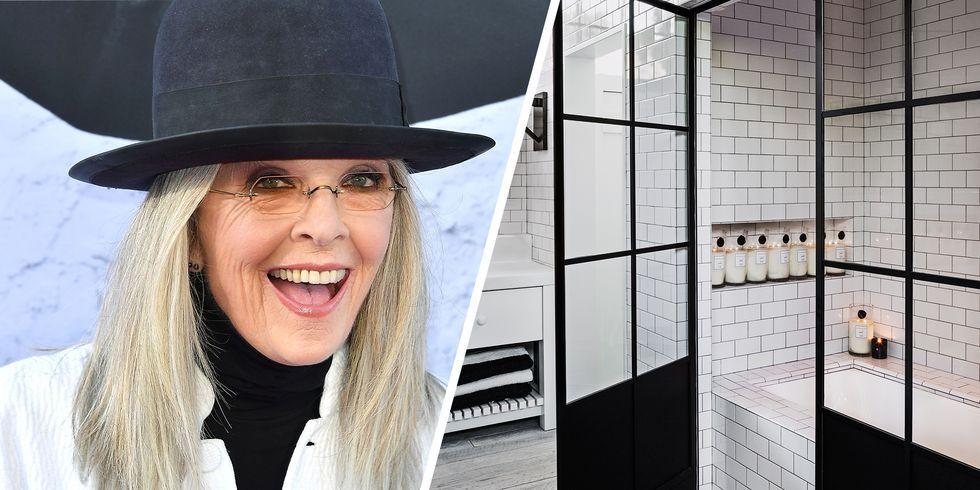 Diane Keaton Quot The House That Pinterest Built Quot Celebrity