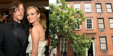 Diane Kruger and Norman Reedus NYC Townhouse