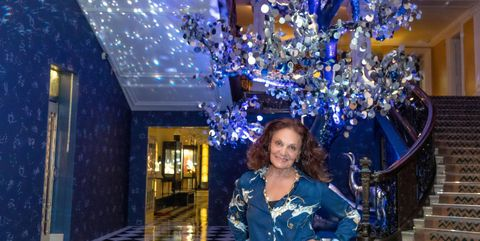 Claridge's Christmas Tree Unveiling