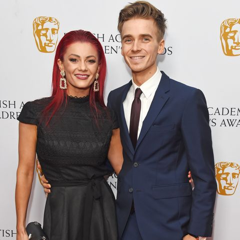Strictly's Joe and Dianne get super excited for the cutest reason