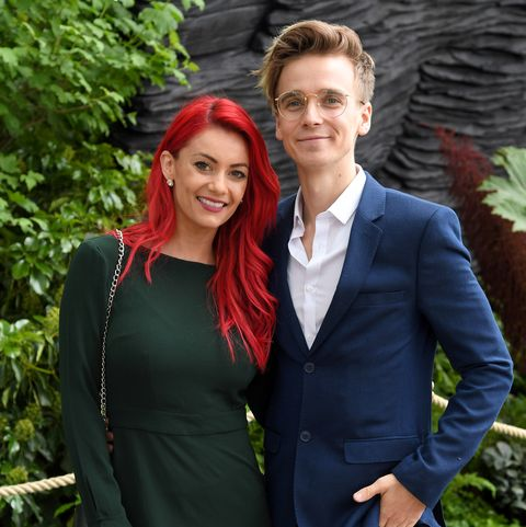 Dianne Buswell and Joe Sugg celebrate huge moment