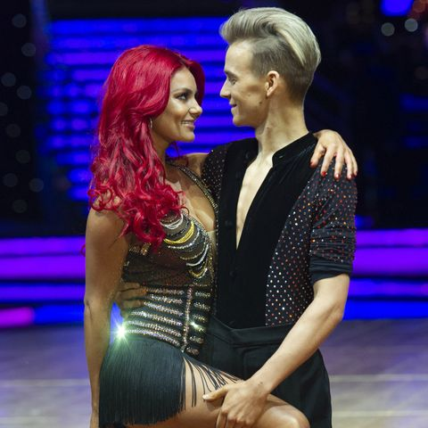 Joe Sugg and Dianne Buswell photocall for Strictly tour in January 2019