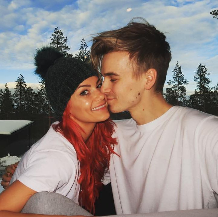 Strictly Come Dancing's Dianne Buswell denies she's expecting a baby with YouTube boyfriend Joe Sugg