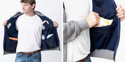 This Hoodie Is Basically a Diaper Bag for Dads