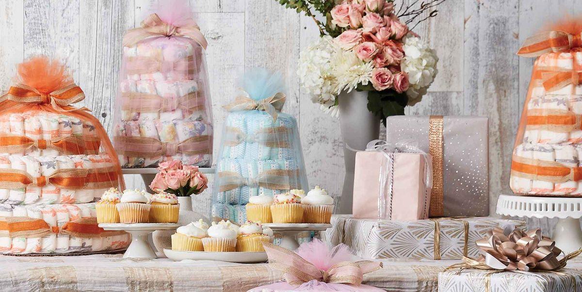 Честная компания продает готовые торты из подгузников для душа — больше никаких поделок!
