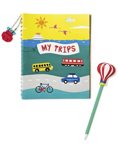 Para niños: Diario de viaje