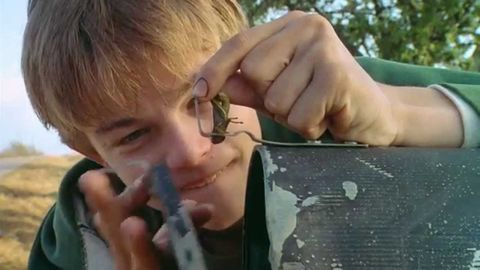 "Leonardo DiCaprio en ""¿A quién ama Gilbert Grape?"""