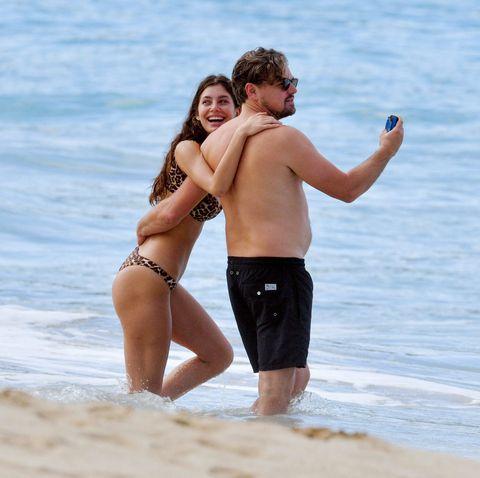 Leonardo Di Caprio y su amiga Camila de vacaciones en las playas de Saint Barth