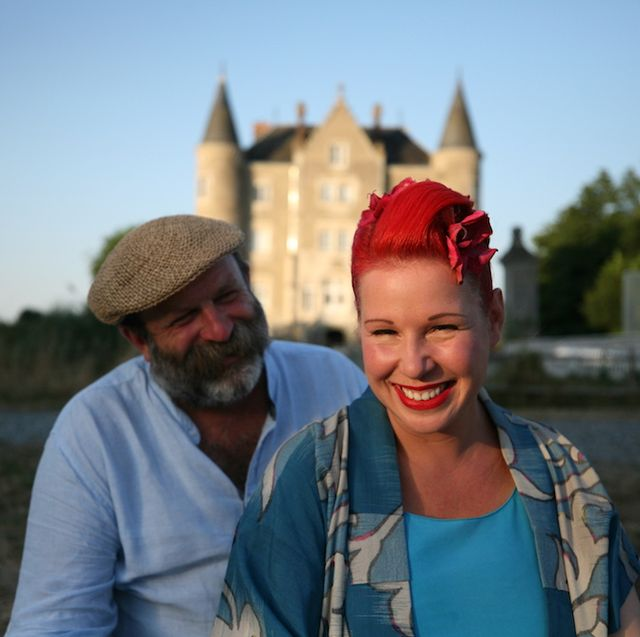 dick and angel strawbridge escape to the chateau photo