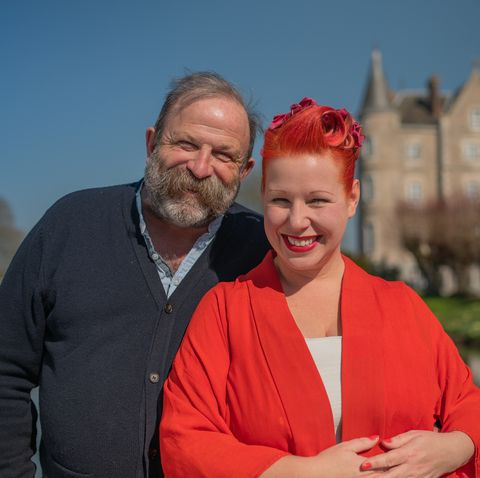 dick and angel strawbridge, escape to the chateau make do and mend tv show