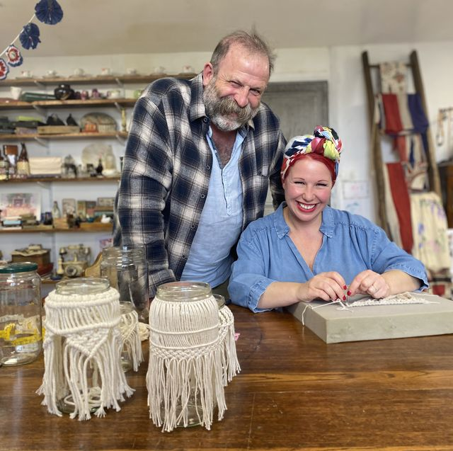 dick and angel strawbridge reveal new series of make do and mend