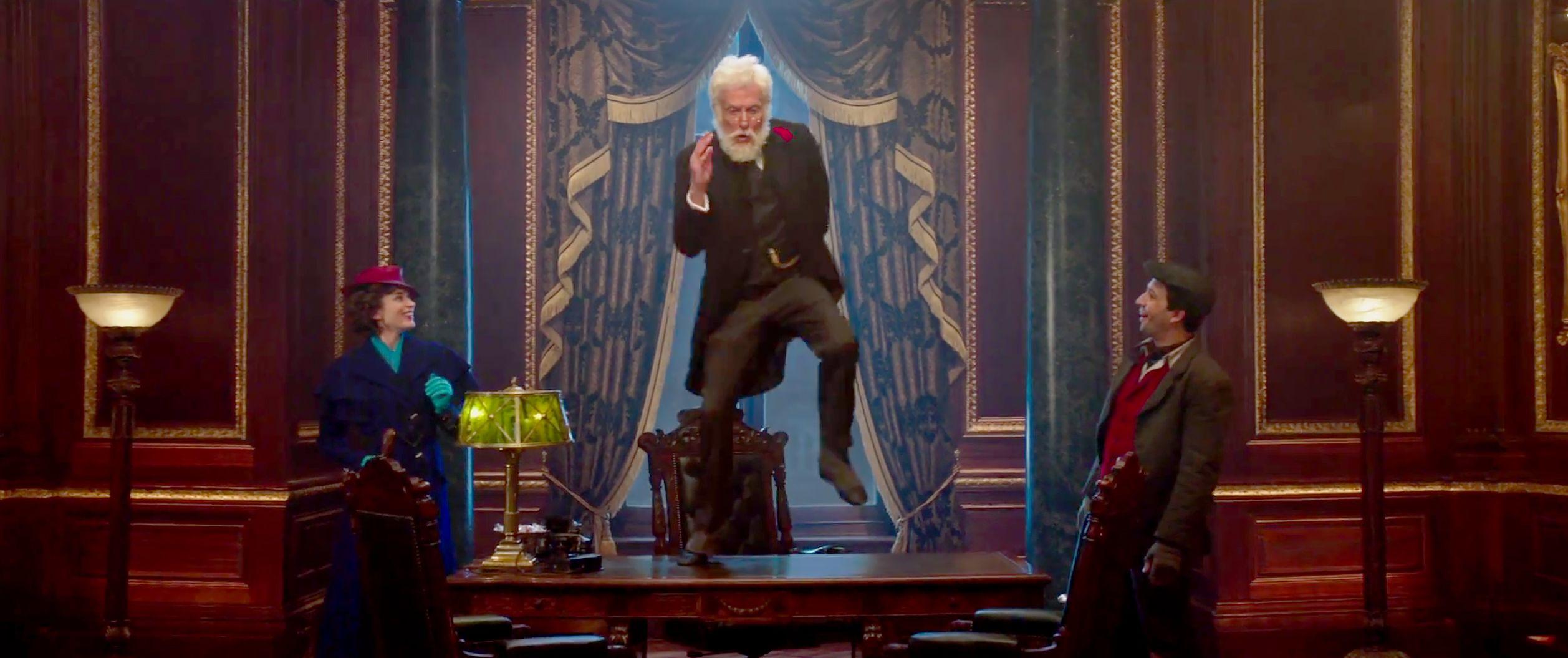 El regreso de Mary Poppins pelicula - Dick Van Dyke Mary Poppins