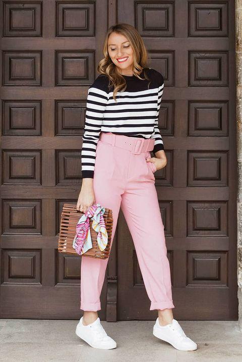Los pantalones rosas de Zara