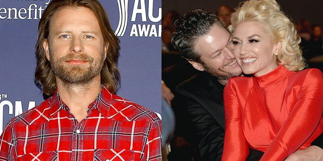how dierks bentley really feels about blake shelton and gwen stefani's wedding invite snub