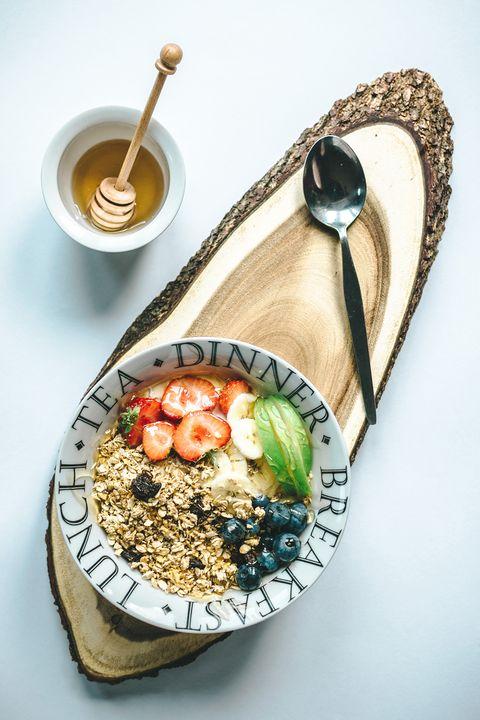colazione per dieta priva di scorie