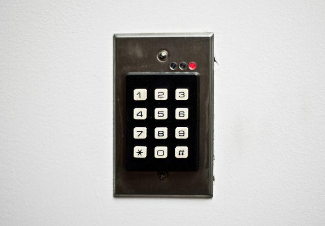 digital door code lock
