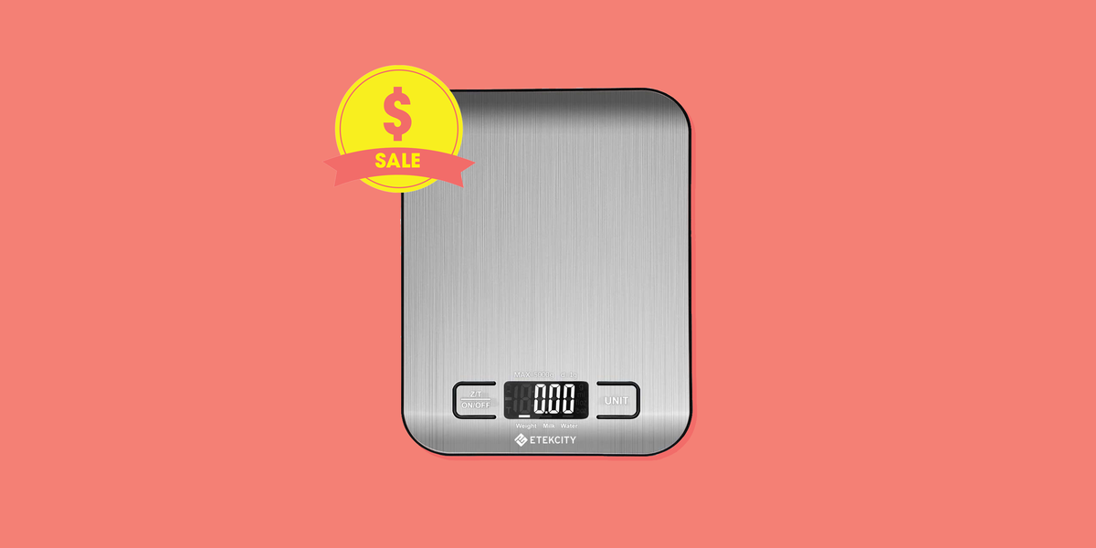 This Digital Food Scale Has 9,000+ Amazon Reviews and Is 53% Off Today