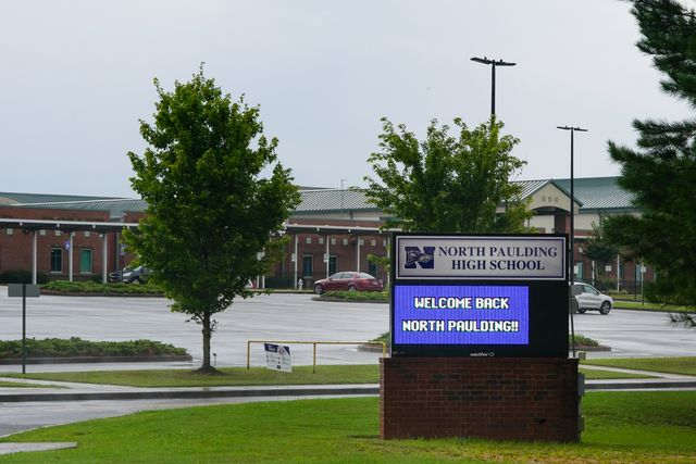 georgia high school to close for two days after nine test positive for coronavirus in first week
