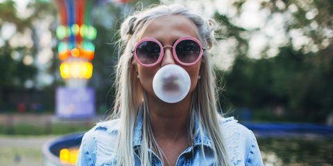 bruciare grassi camminando con il chewing gum