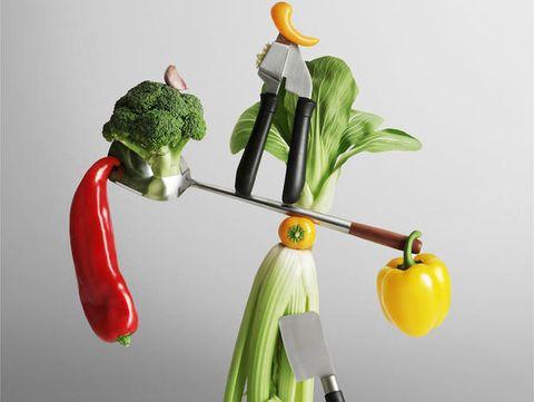 Produce, Ingredient, Natural foods, Vegetable, Vegan nutrition, Whole food, Leaf vegetable, Still life photography, Plant stem, Bell pepper,