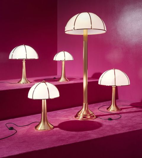 'Fungo' table lamps by Gabrilla Crespi for Dimore Gallery