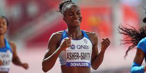 Dina Asher-Smith: entrenamientos, alimentación, velocidad