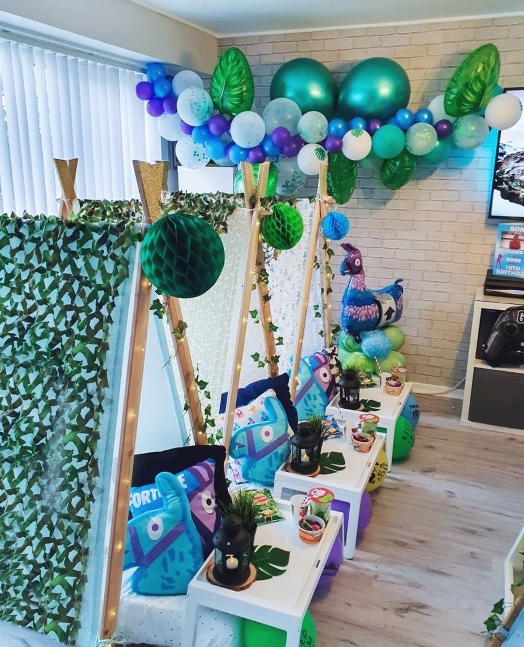 15 Best Fortnite Party Ideas Diy Fortnight Birthday Party Decorations