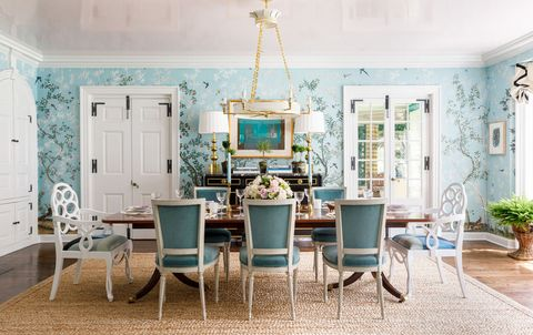 dining room by paloma contreras for 2020 lake forest showhouse