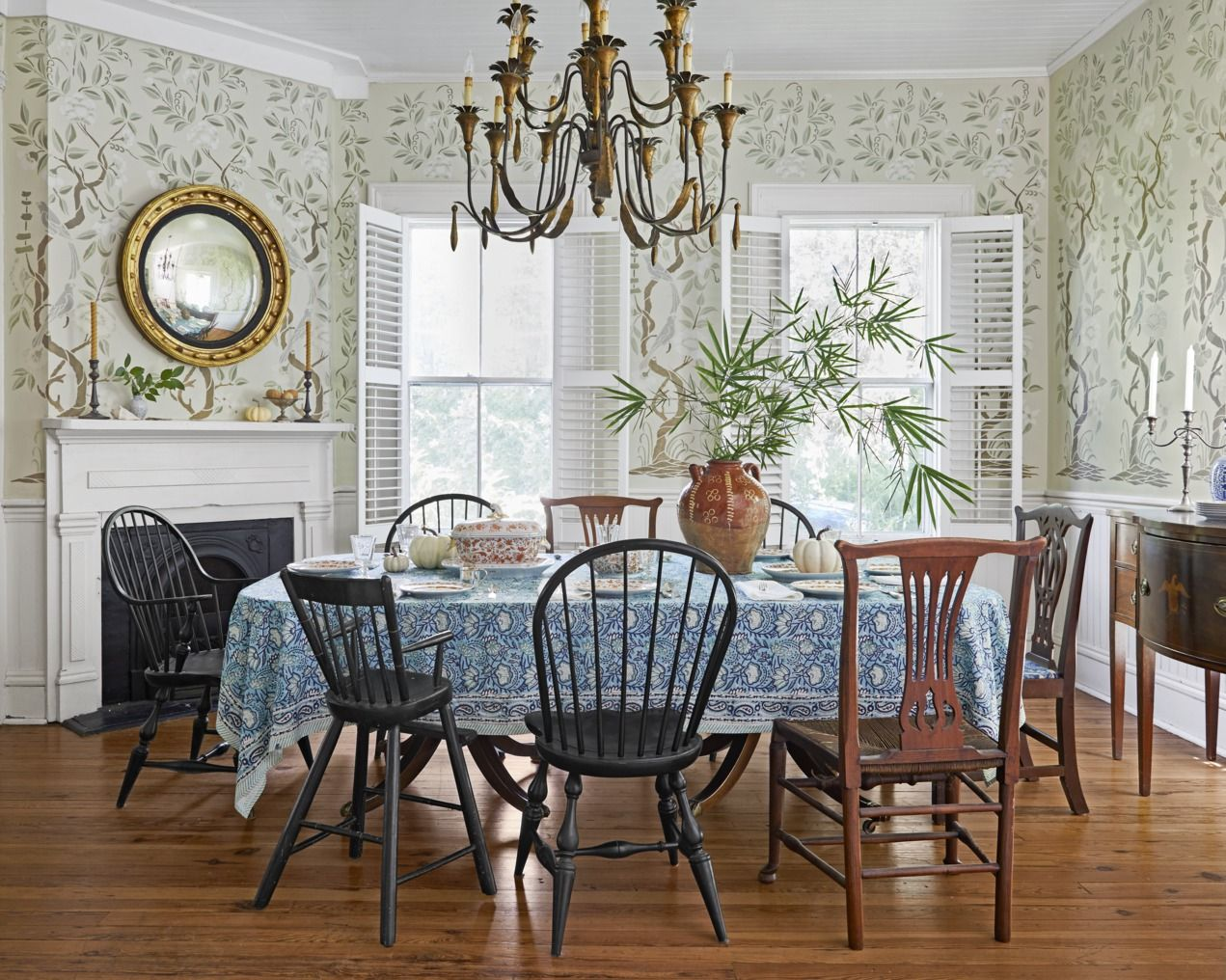 23 Best Dining Room Decorating Ideas - Country Dining Room Decor