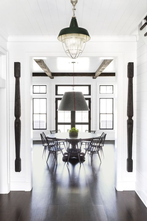 dining room ideas oversized light